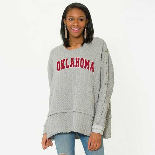 Oklahoma Sasha Snap Sleeve Tunic by Flying Colors
