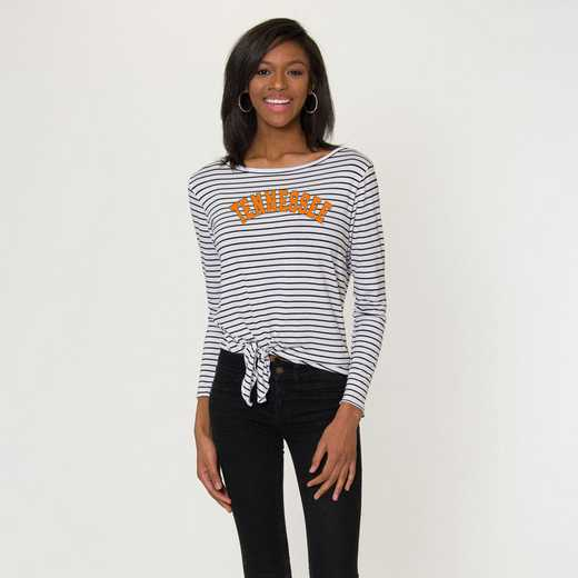 Tennessee  Tara Long Sleeve Tie-Front Top by Flying Colors