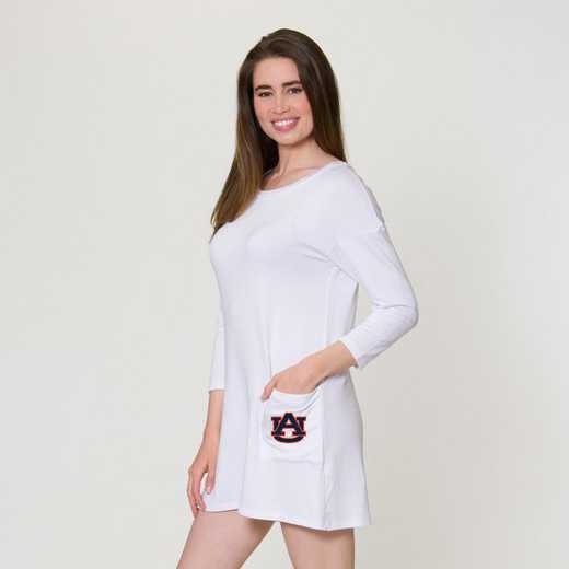 Auburn  Brittany Button Back Dress by Flying Colors