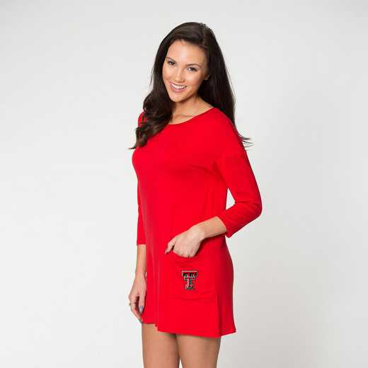 Texas Tech  Brittany Button Back Dress by Flying Colors