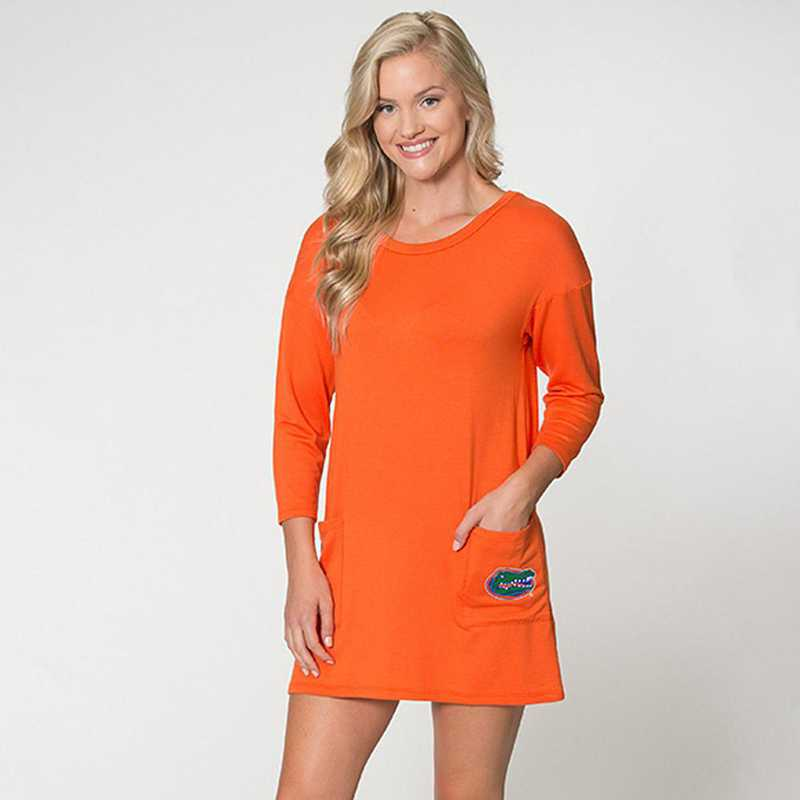 Florida  Brittany Button Back Dress by Flying Colors
