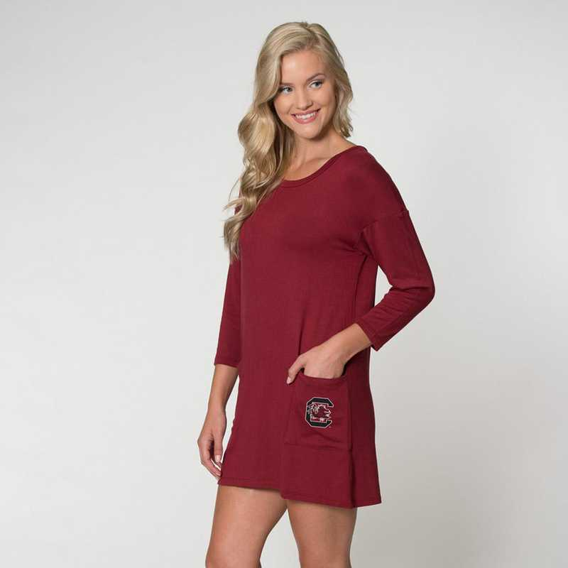 South Carolina Brittany Button Back Dress by Flying Colors