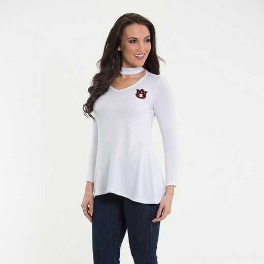 Auburn  Chelsea Choker Top by Flying Colors
