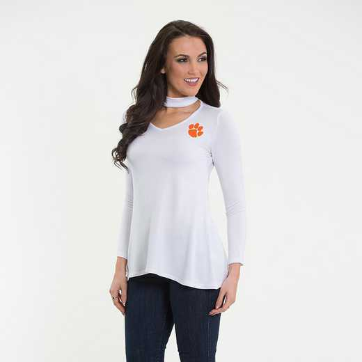 Clemson  Chelsea Choker Top by Flying Colors