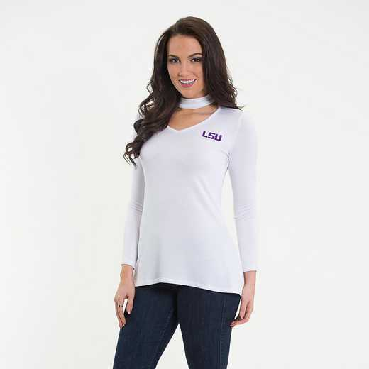 LSU  Chelsea Choker Top by Flying Colors