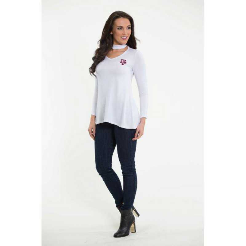 Texas A&M Chelsea Choker Top by Flying Colors