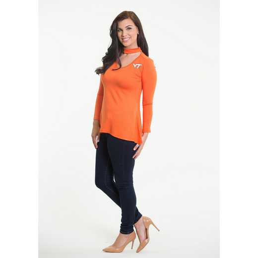 Virginia Tech  Chelsea Choker Top by Flying Colors