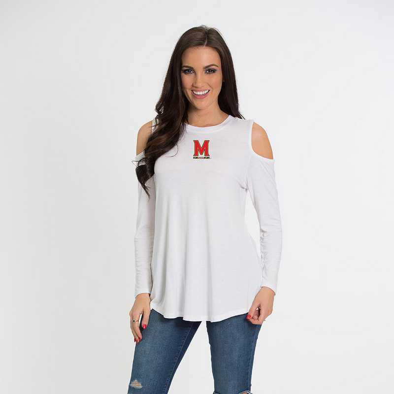 Maryland Courtney Cold Shoulder by Flying Colors