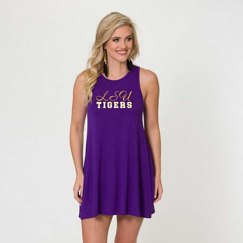 LSU - Tori Tent Dress by Flying Colors