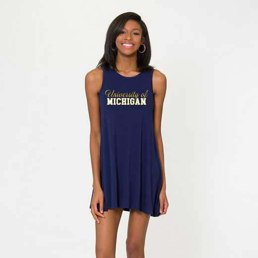 Michigan  - Tori Tent Dress by Flying Colors