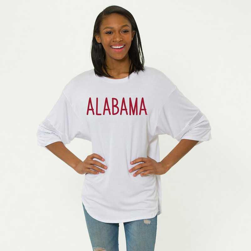 Alabama Jordan Short Sleeve Gameday Jersey by Flying Colors