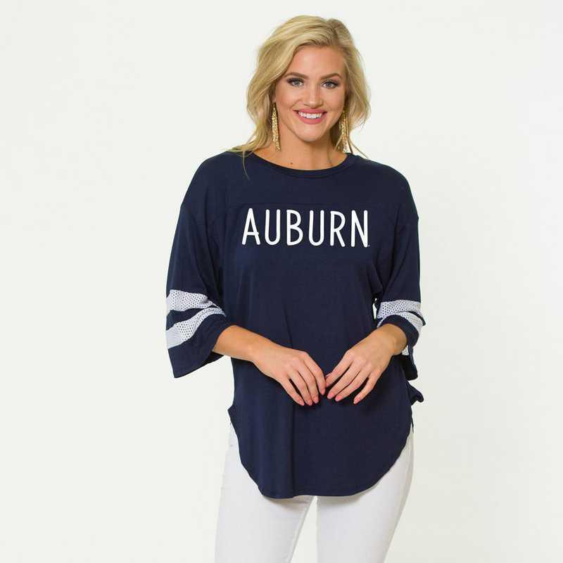 Auburn Jordan Short Sleeve Gameday Jersey by Flying Colors