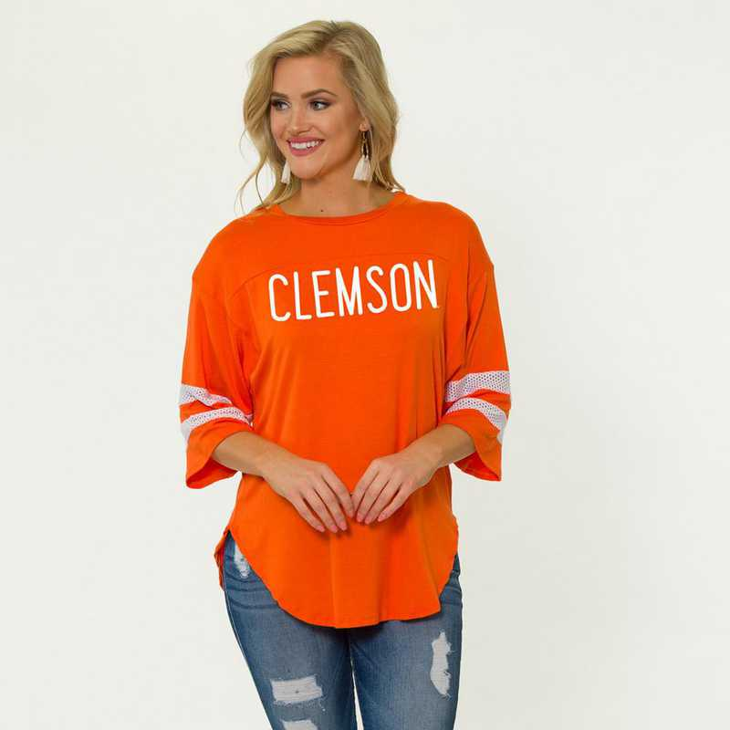 Clemson Jordan Short Sleeve Gameday Jersey by Flying Colors