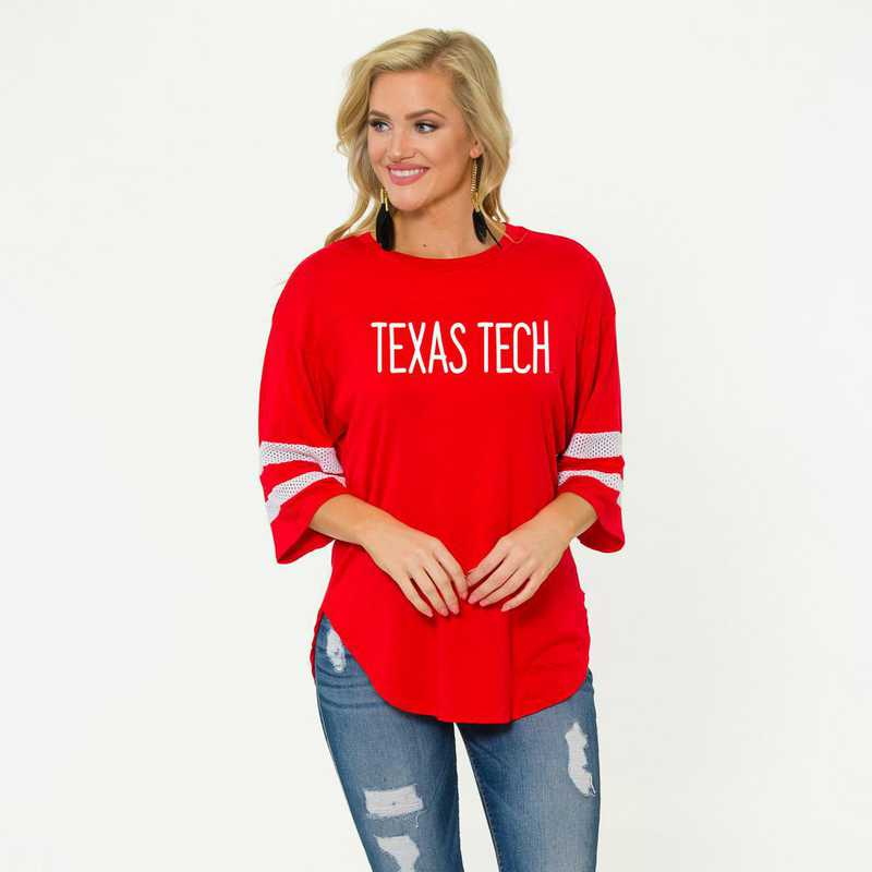 Texas Tech Jordan Short Sleeve Gameday Jersey by Flying Colors