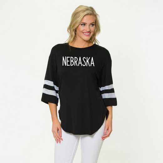 Nebraska Jordan Short Sleeve Gameday Jersey by Flying Colors