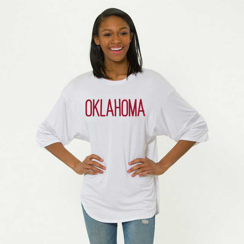Oklahoma Jordan Short Sleeve Gameday Jersey by Flying Colors