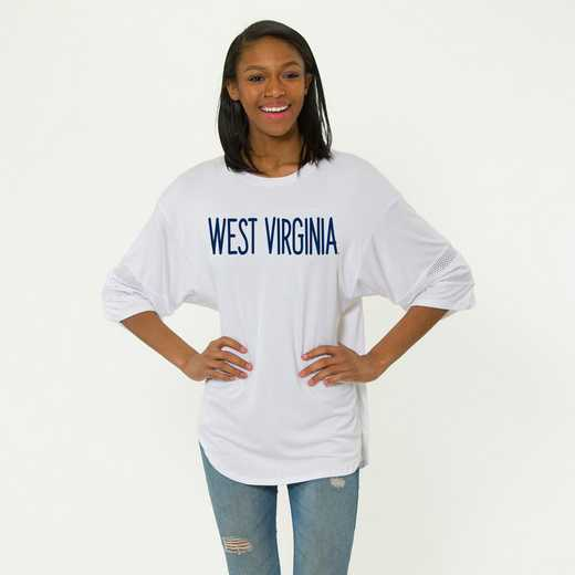 West Virginia Jordan Short Sleeve Gameday Jersey by Flying Colors