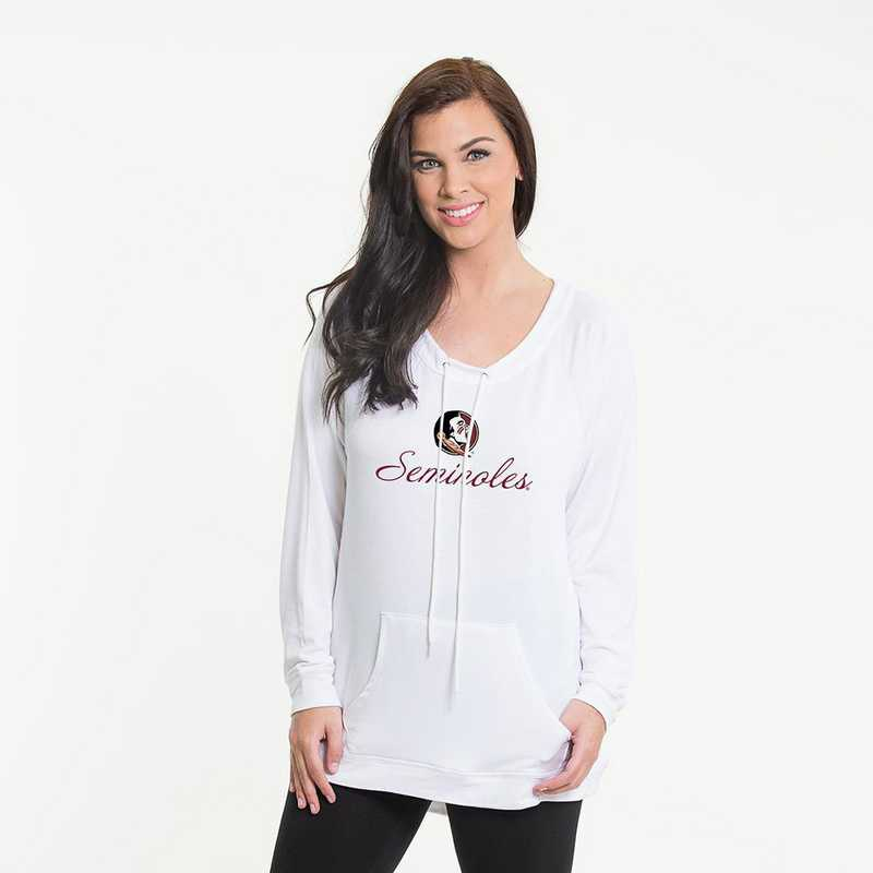 Florida State -  Katie Key-hole cut-out back pullover by Flying Colors