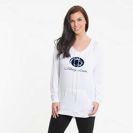 Penn State -  Katie Key-hole cut-out back pullover by Flying Colors