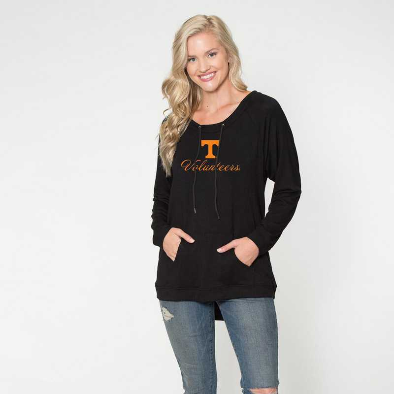Tennesse - Katie Key-hole cut-out back pullover by Flying Colors