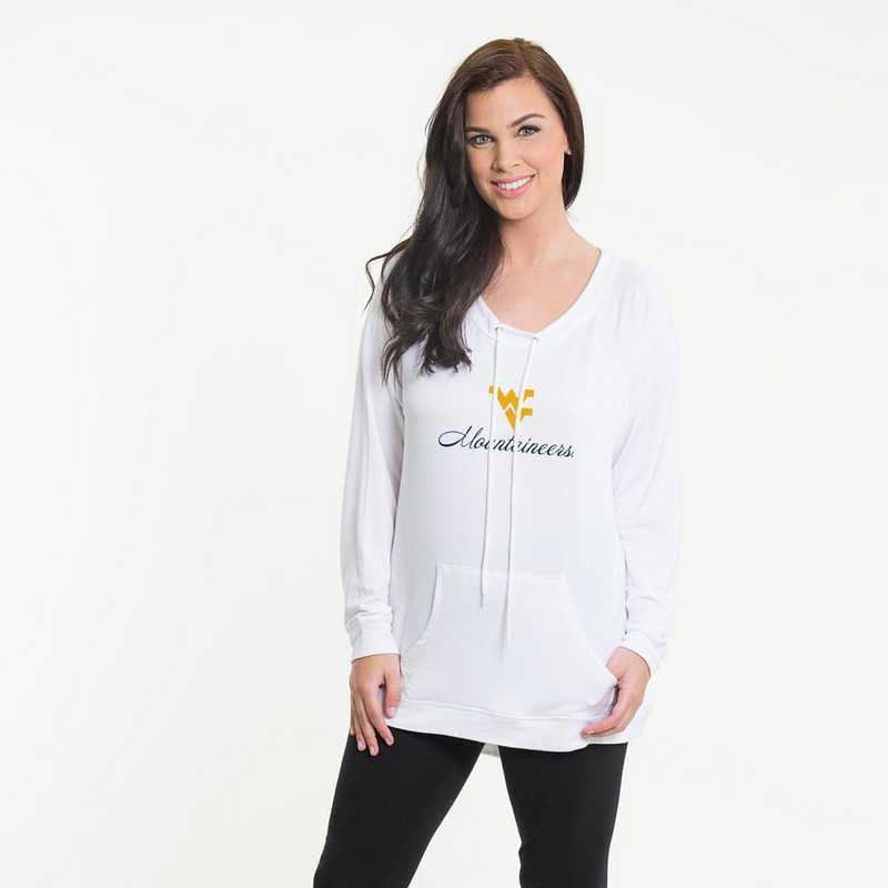 West Virginia- Katie Key-hole cut-out back pullover by Flying Colors