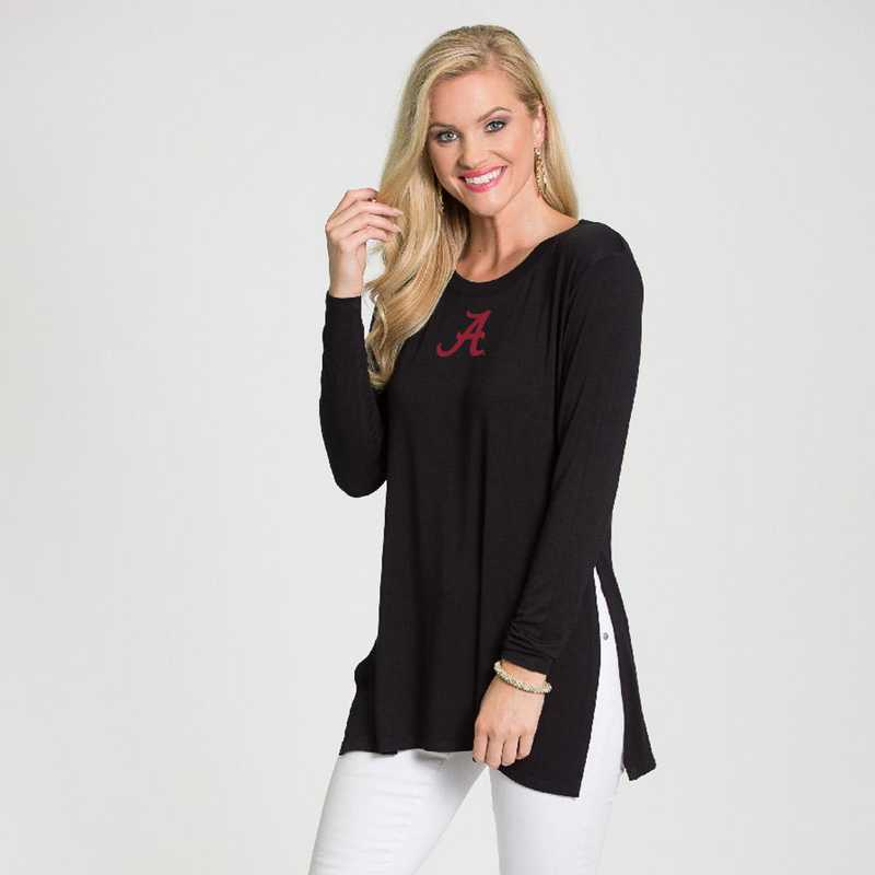 Alabama- Marie Side Slit Tunic by Flying Colors