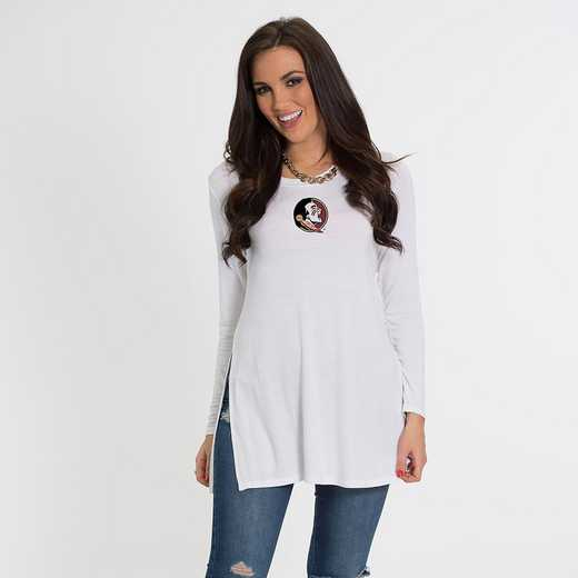 Florida State- Marie Side Slit Tunic by Flying Colors