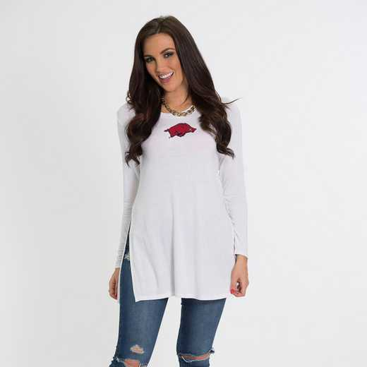Arkansas- Marie Side Slit Tunic by Flying Colors