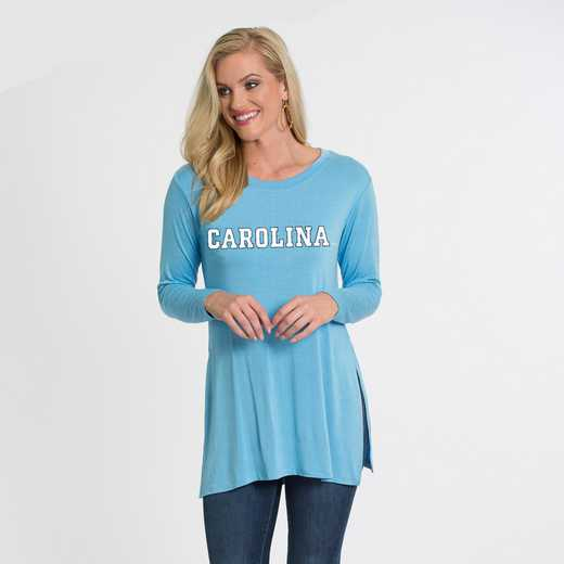 UNC- Marie Side Slit Tunic by Flying Colors