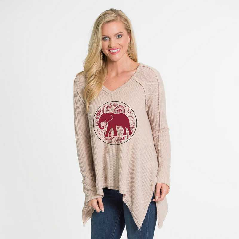 Alabama   Melody Thermal Knit Top by Flying Colors