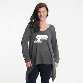 Purdue   Melody Thermal Knit Top by Flying Colors