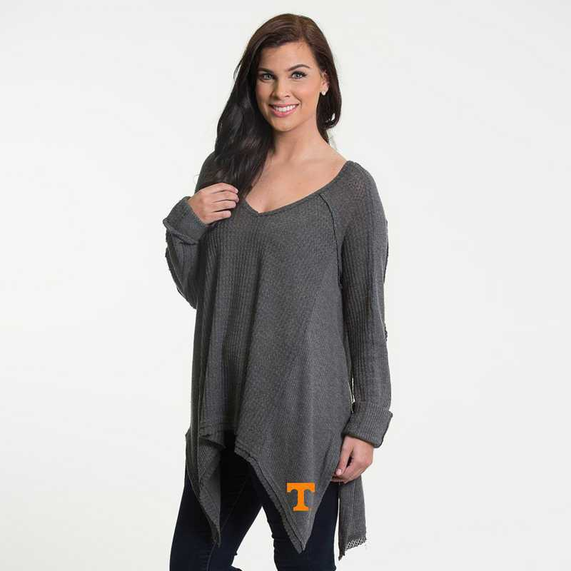 Tennessee  Melody Thermal Knit Top by Flying Colors