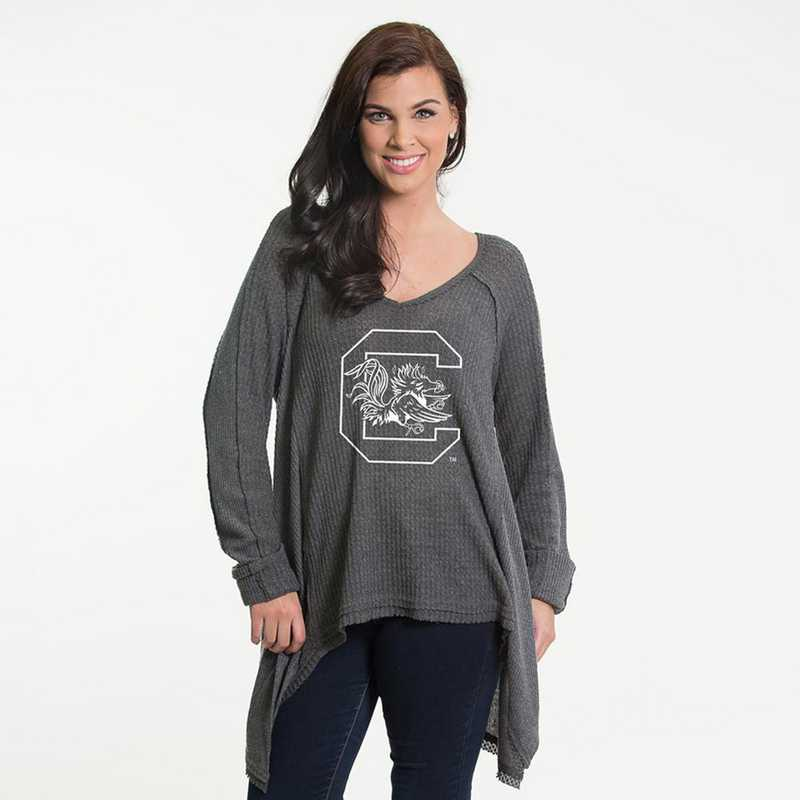South Carolina   Melody Thermal Knit Top by Flying Colors