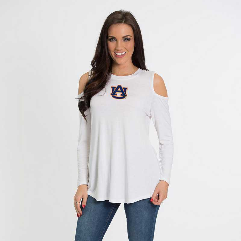 Auburn- Courtney Cold Shoulder by Flying Colors