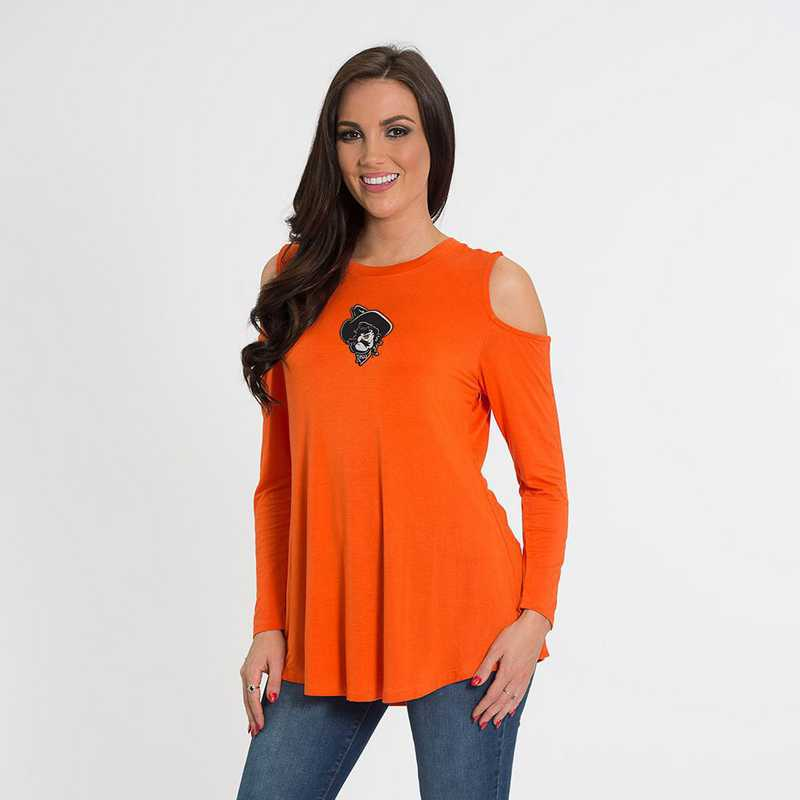 Oklahoma State- Courtney Cold Shoulder by Flying Colors