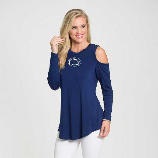 Penn State- Courtney Cold Shoulder by Flying Colors