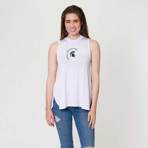 Michigan State Penelope Tank by Flying Colors