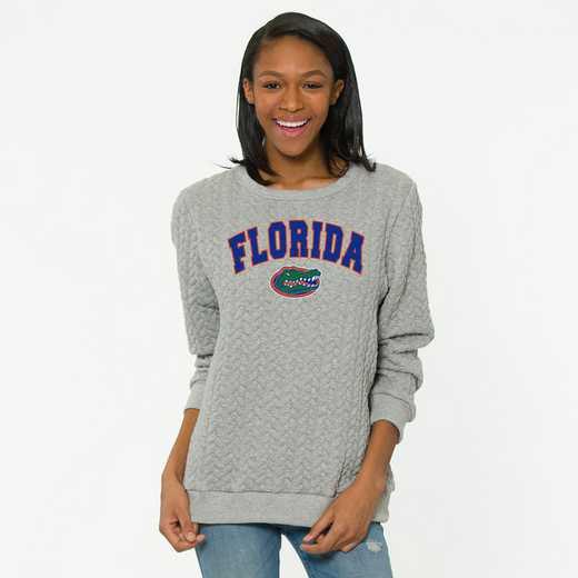 Florida  Jenny Braided Jacquard Crewneck Sweatshirt by Flying Colors