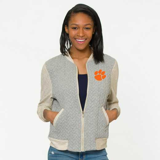 Clemson  Roni Letterman Jacket by Flying Colors