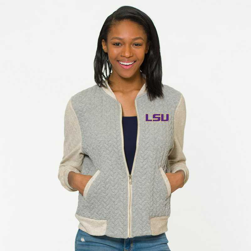 LSU Roni Letterman Jacket by Flying Colors
