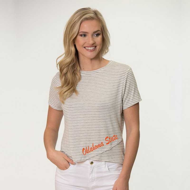 Oklahoma State  Perry Zig Zag Tee by Flying Colors