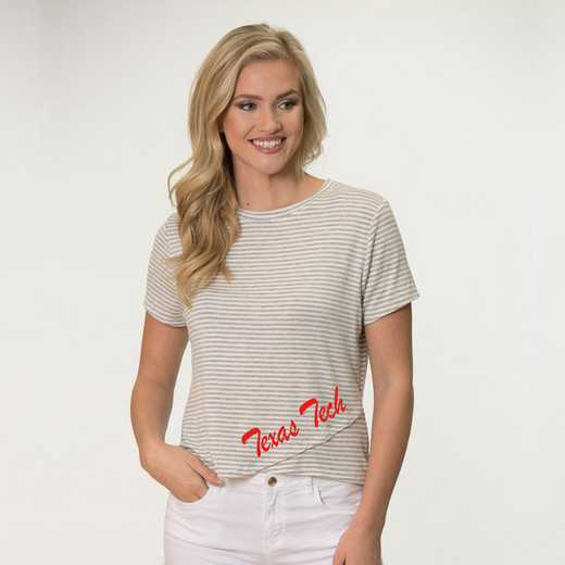 Texas Tech  Perry Zig Zag Tee by Flying Colors