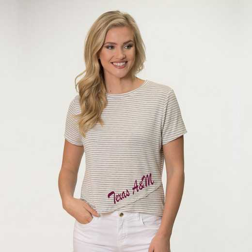 Texas A&M Perry Zig Zag Tee by Flying Colors
