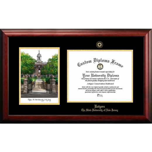 NJ999LGED-1411: Rutgers University, The State University of New Jersey, 14w x 11h