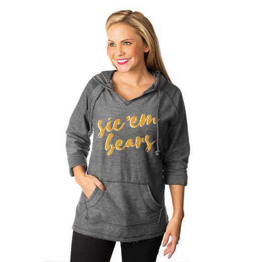 """Baylor Bears """"Keeping Cozy"""" French Terry Hooded Pullover By Gameday Couture"""