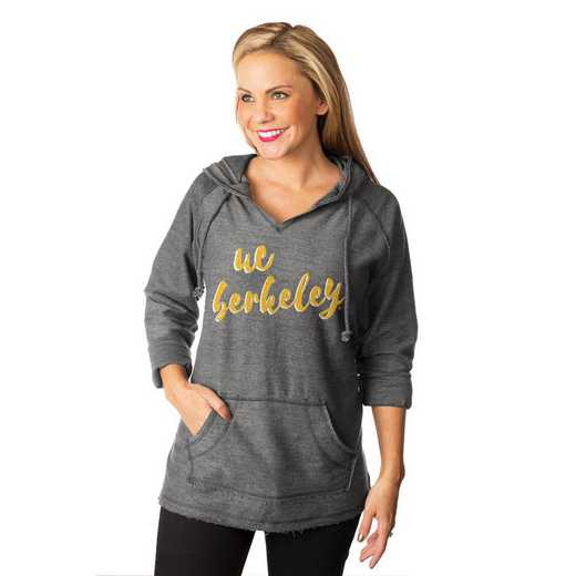 """California Golden Bears """"Keeping Cozy"""" French Terry Hooded Pullover By Gameday Couture"""