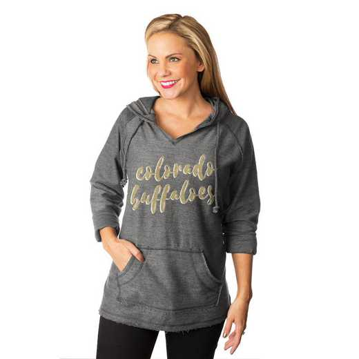 "Colorado Buffaloes ""Keeping Cozy"" French Terry Hooded Pullover By Gameday Couture"