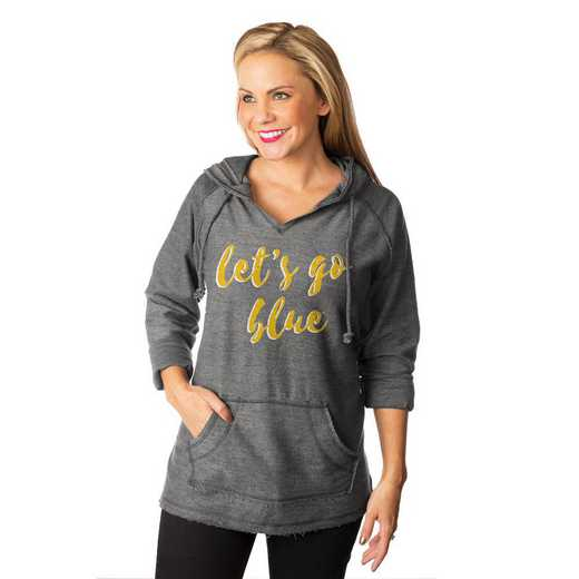 """Michigan Wolverines """"Keeping Cozy"""" French Terry Hooded Pullover By Gameday Couture"""