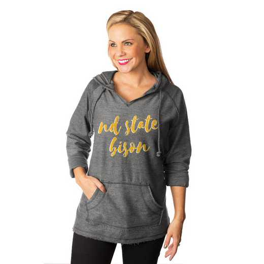"""North Dakota State Bison """"Keeping Cozy"""" French Terry Hooded Pullover By Gameday Couture"""