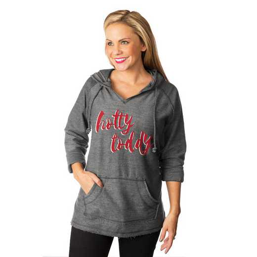 """Mississippi Ole Miss """"Keeping Cozy"""" French Terry Hooded Pullover By Gameday Couture"""